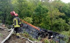 При ДТП с туристическим автобусом в Италии пострадали 37 человек