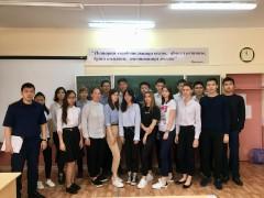 В Калмыкии следователи СКР встретились со школьниками