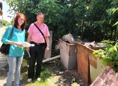 В Невинномысске провели весенние замеры образования мусора у населения