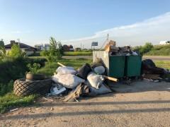 Частный сектор Краснодара утопает в бытовых отходах после старта «мусорной реформы»