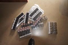 На границе с Абхазией у автоледи обнаружена контрабандная партия сигарет