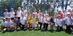 В Невинномысске прошел футбольный турнир среди девочек
