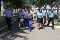 Судебные приставы Кубани посетили исправительную колонию в Белореченске