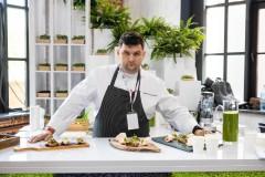 Первый урожай микрозелени представлен на крупнейшем форуме для поваров «Завтрак Шефа»