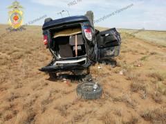 В Черноземельском районе Калмыкии при ДТП один человек погиб, пятеро госпитализированы