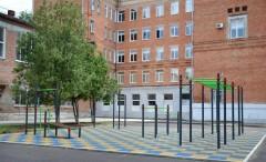 У лицея №6 в Невинномысске появилась площадка для воркаута