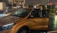 Орешкин поделился впечатлениями о поездке в Тольятти за рулем Lada Xray