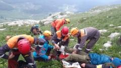 Спасатели эвакуировали с Большого Фиштинского ледника туриста, получившего травму
