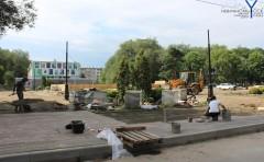 В Невинномысске приступили к ремонту фонтана на бульваре Мира