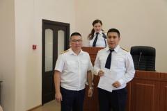 В Калмыкии состоялось торжественное собрание, посвященное Дню сотрудника органов следствия РФ