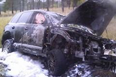 В Геленджике взорвался припаркованный автомобиль