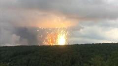 В Красноярье прогремел взрыв на территории воинской части