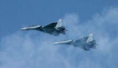 В Липецкой области столкнулись два истребителя-бомбардировщика Су-34