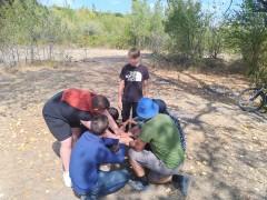 Сотрудники УИИ УФСИН России по Ставропольскому краю организовали для несовершеннолетних осужденных туристический поход.