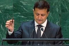 Зеленский обвинил Россию в нападении на Украину во время речи в ООН