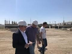 Министр Алексей Когарлыцкий проверил объекты строительства в городе Михайловске