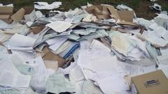В Саратове на свалке валялись личные документы граждан