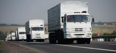 Донские пограничники пропустили на Донбасс 87-й гуманитарный конвой