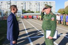 Эстафета-мемориал памяти полковника Владимира Мезенцева стартовала в Ставропольском крае