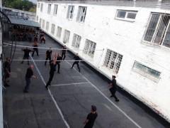 В ИК-4 УФСИН России по Ставропольскому краю для осужденных провели соревнования по волейболу