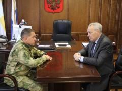 В Ставрополе обсудили вопросы взаимодействия Росгвардии и органов внутренних дел региона