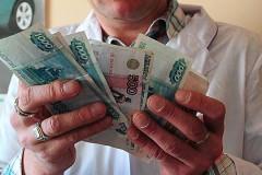 Росстат отмечает рост зарплат медработников