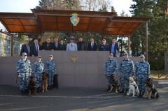 В Ростовской школе служебно-розыскного собаководства состоялось торжественное мероприятие