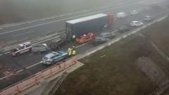 Массовое ДТП в Германии: из-за тумана и гололедицы столкнулись 18 машин