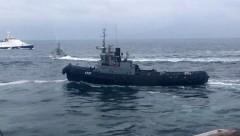 ФСБ: Задержанные во время провокации корабли были переданы Украине в нормальном состоянии