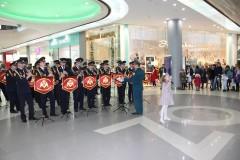 В Краснодаре военный оркестр Росгвардии поздравил женщин с Днем матери