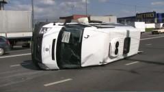 В Волгодонске при лобовом столкновении маршрутки пострадал пассажир