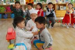 Завершается строительство корпуса яслей на территории детского сада в ставропольском селе Александровском