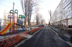 В Невинномысске отремонтировали шесть дворовых территорий