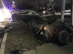 При ДТП в Батайске перевернулся автомобиль