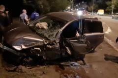 ДТП в Таганроге: не смогли разъехаться две иномарки, есть пострадавшие