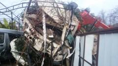 ДТП в Вардане: сочинские спасатели деблокировали водителя грузовика