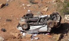 ЧП в Дагестане: машина рухнула с обрыва, трое погибли