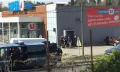 Во Франции из супермаркета эвакуировали более 300 человек из-за пожара