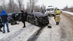 При ДТП в удмуртском Воткинске семь человек пострадали, один погиб