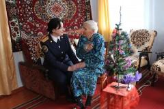 В Изобильном поздравили ветерана Великой Отечественной войны с 99-м днем рождения