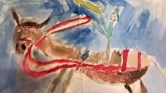 В Москве мужчина выставил на продажу свой детский рисунок за 140 млн рублей