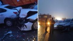 В Адыгее при массовом ДТП погибли два человека