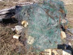 В ходе рейдов на Кубани пограничники извлекли из водоемов 750 м браконьерских сетей