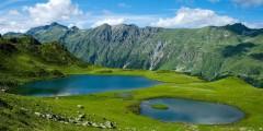 В районе озер Хмелевского сочинские спасатели нашли заблудившихся туристок