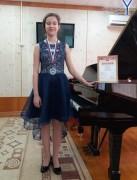 Ученица невинномысской школы искусств Диана Середа стала лауреатом международного конкурса