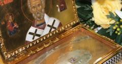В Украине мужчина украл из церкви мощи святого и подарил их другу
