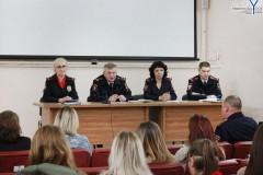 Невинномысские правоохранители встретились со студентами
