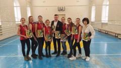 Юноши Невинномысска соревнуются в волейбольной лиге