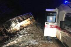 При ДТП с рейсовым автобусом в Тульской области один человек погиб