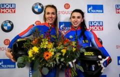 Две российские спортсменки впервые в истории выиграла континентальный чемпионат и этап Кубка мира